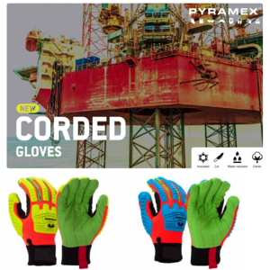 12-16 Corded Gloves